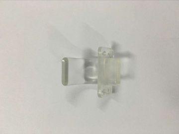 A injeção plástica da transparência moldou as peças, modelagem por injeção plástica da precisão